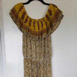 J. Gee Floral print Maxi dress